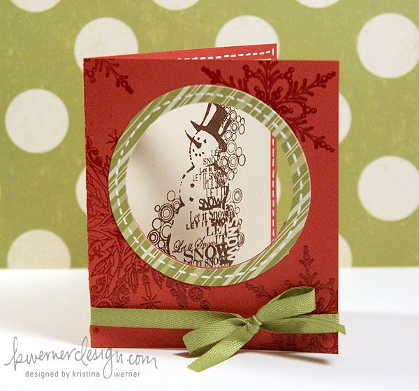 Holiday Card Series - Day 4      ...love, love, love this card...