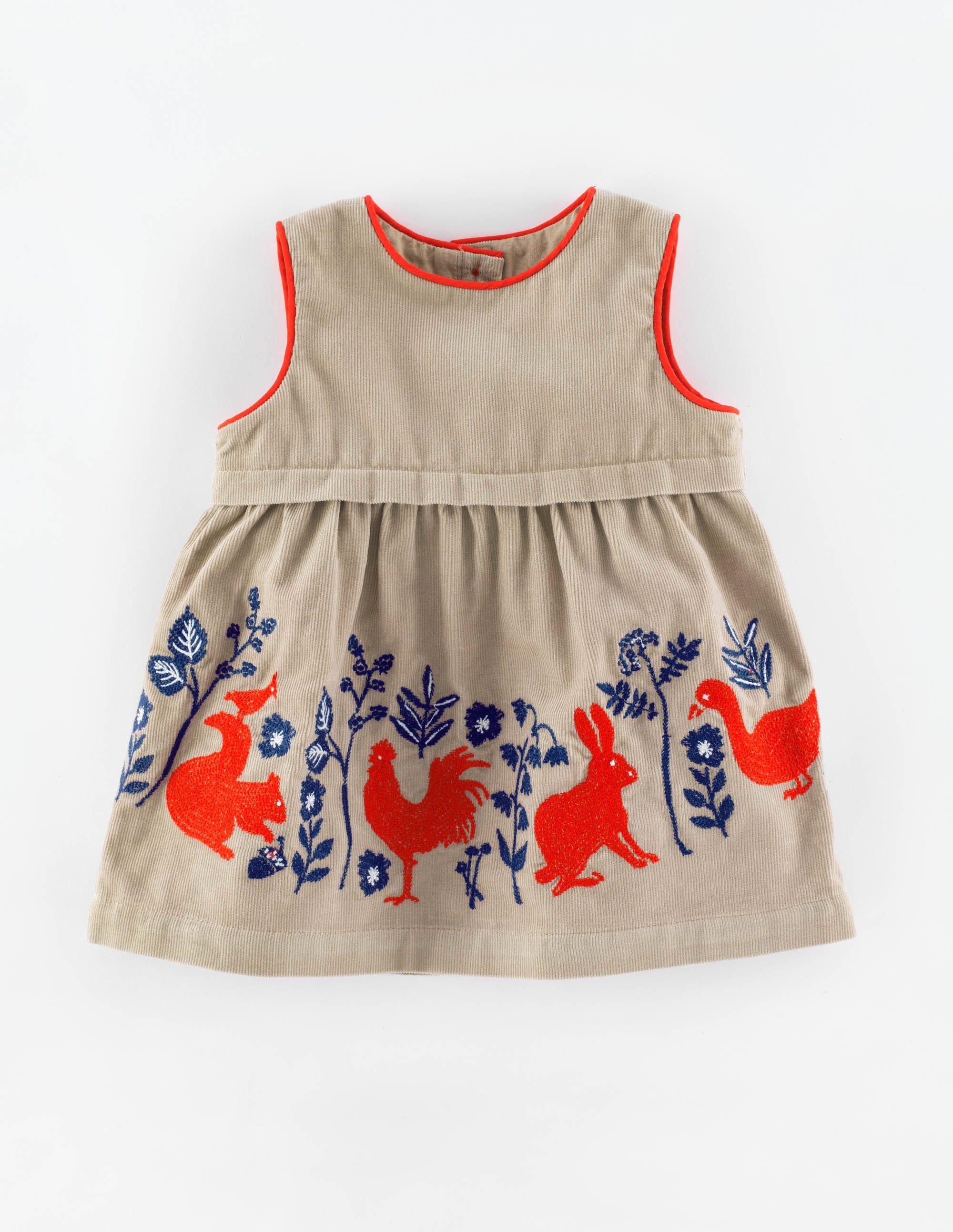 Cordkleid mit waldtiermotiven 73165 h ngerchen bei boden for Baby boden mode