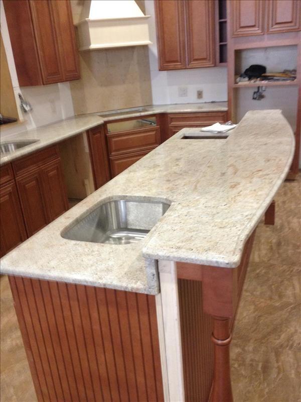 Millenium Cream Granite in 2019 | Granite kitchen ... on granite outdoor kitchen countertops, granite kitchen cabinets, granite kitchen remodel ideas, granite outdoor fireplaces, granite kitchen design ideas, granite kitchen islands,