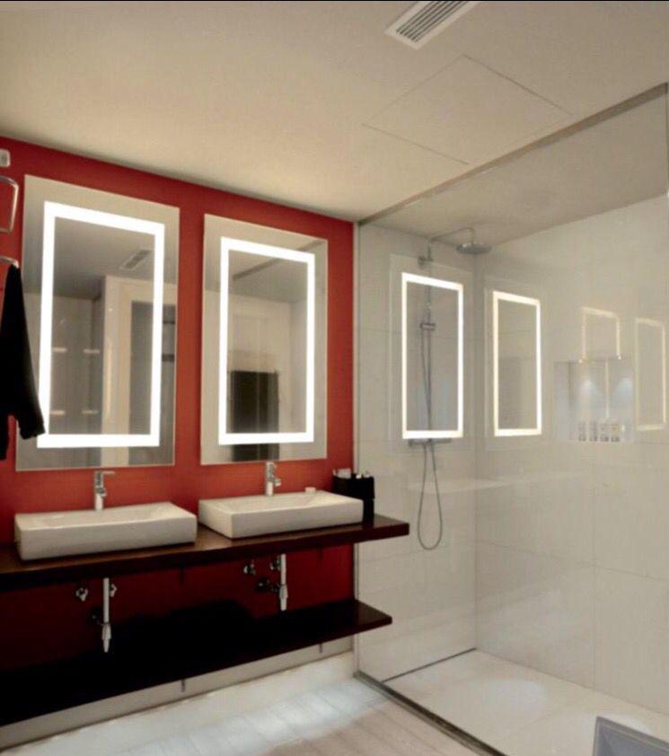 Espejos con iluminaci n led antivaho p denos la medida for Espejos con iluminacion