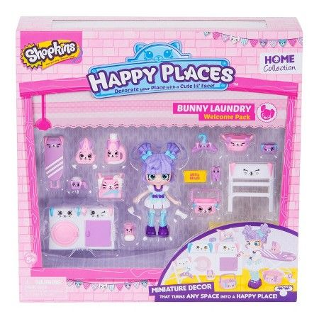 Happy Places Shopkins™ Welcome Pack - Bunny Laundry : Target
