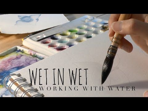 Controlling Water X2f Pigment Ratio In Watercolor Youtube