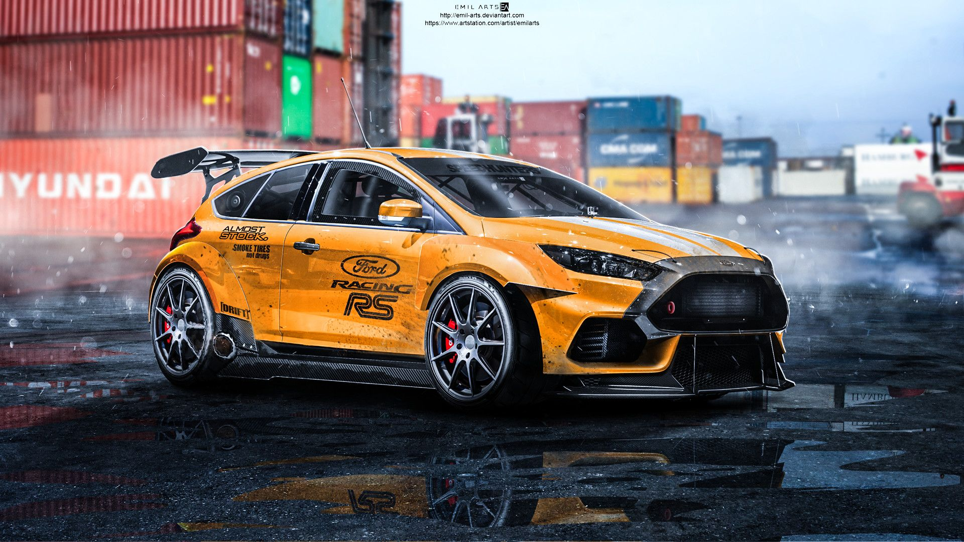 Artstation Ford Focus Rs 2015 Tuning Emil Arts