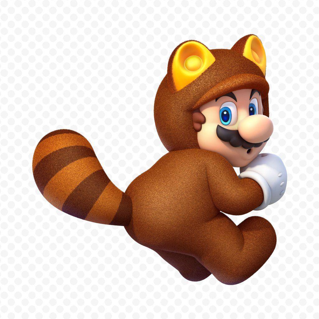 Racoon Mario, Super Mario 3D World, Wii U http://www.dromelabs.com ...