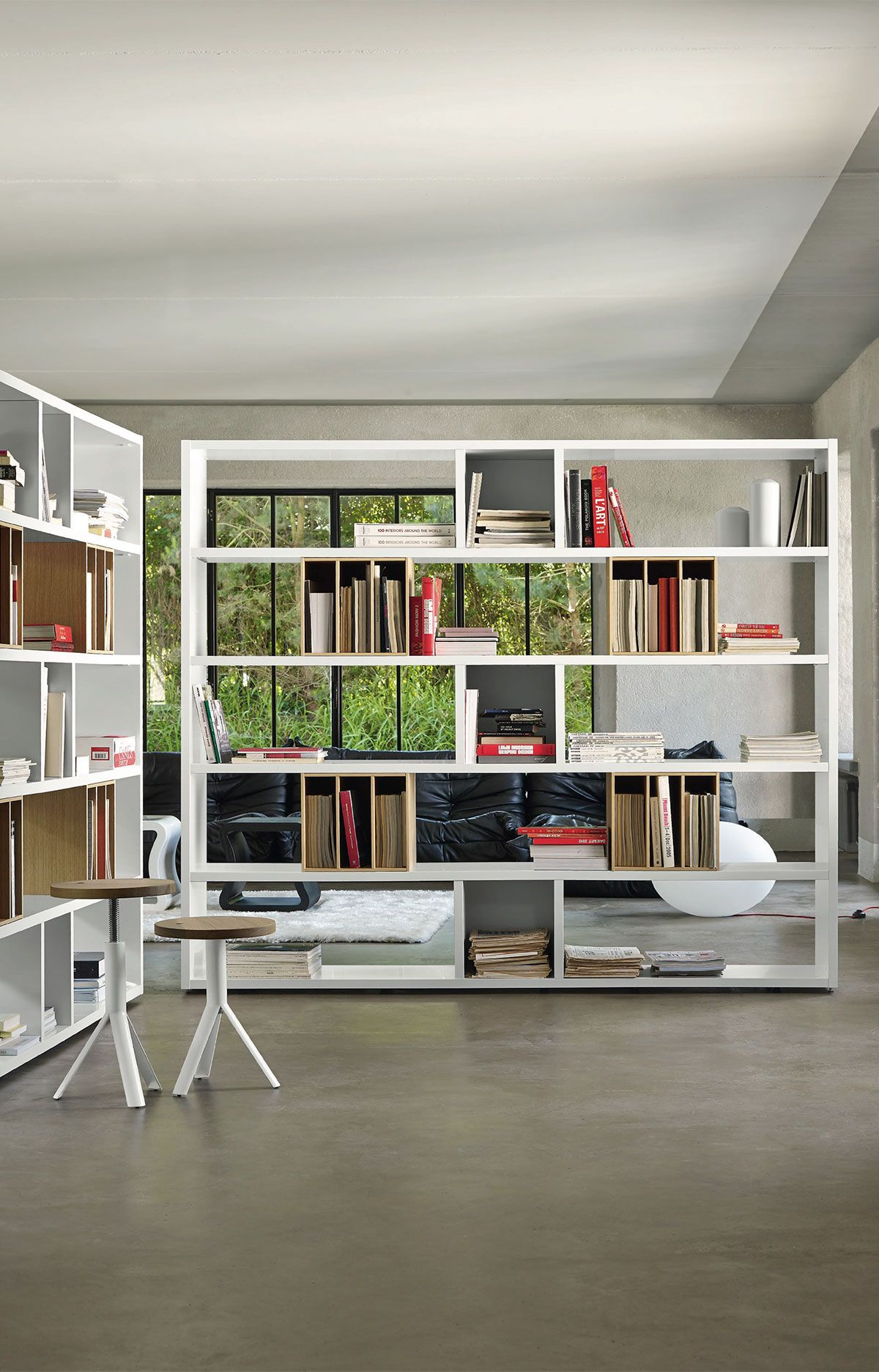 Et Cetera Bookcase Designed By Pagnon Pelhaitre For Ligne Roset