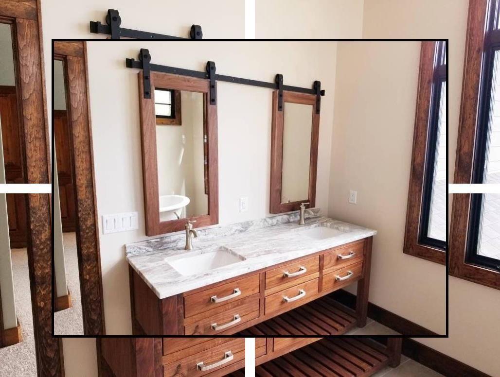 Photo of Bathroom products Blue and White Bathroom Decor Gray bathroom decor