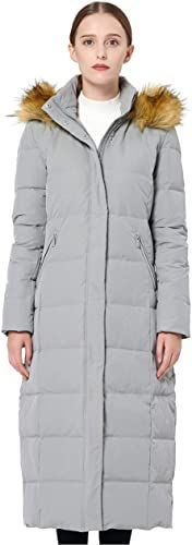 New Orolay Women's Maxi Puffer Down Coat Faux Fur Hood Online New Orolay Women's Maxi Puffer Down Coat Faux Fur Hood online Woman Coats womans puffer coat with fur hood