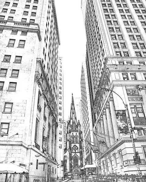 New York City Printable New York Art New York Decor New York City
