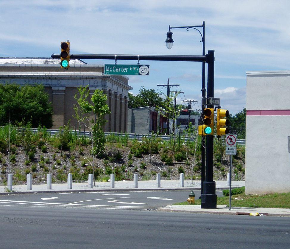 Visco Inc Ornamental Traffic Signal Standard Newark Nj Traffic Signal Traffic Lamp Post