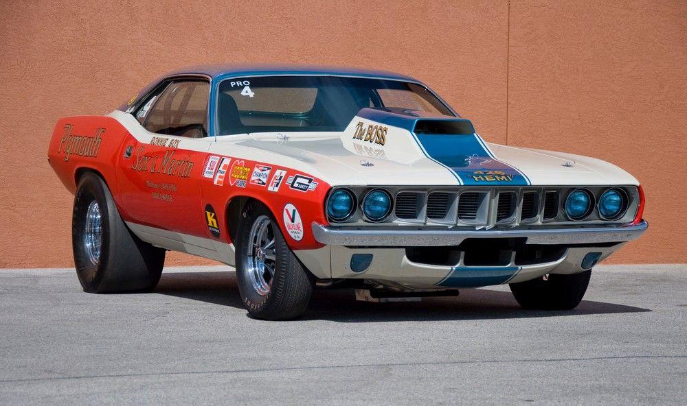 Sox & Martin 1971 Plymouth Hemi \'Cuda Pro Stock | Vintage Racing ...