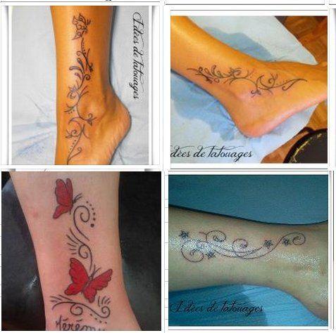 tatouage pour femme cheville recherche google tatouages pinterest tatouages pour femmes. Black Bedroom Furniture Sets. Home Design Ideas