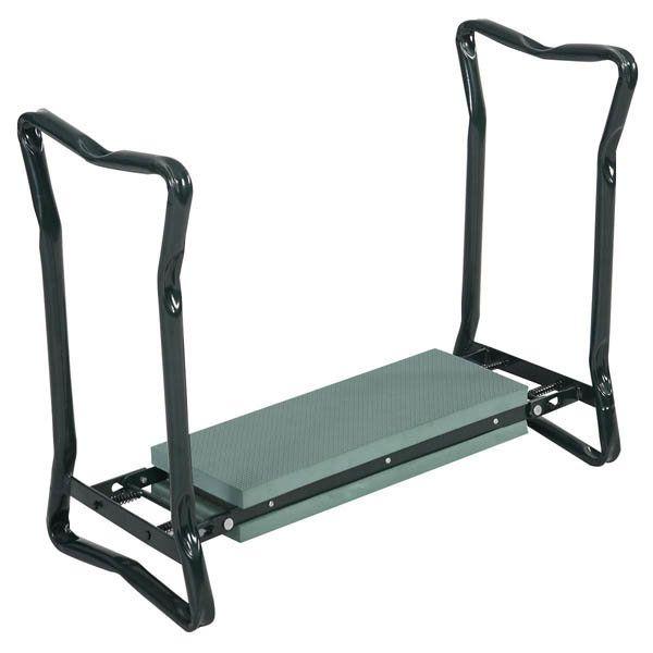Folding Stainless Steel Garden Kneeler Stool EVA Cushion Seat Gardening Portable Tool - Banggood Mobile