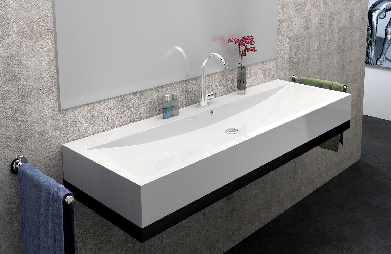 Design Waschtische aufsatzwaschbecken eckig Waschtisch Guss-marmor ...