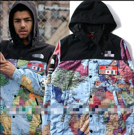 Hot sale mens world map print windbreake flag pattern jacket high hot sale mens world map print windbreake flag pattern jacket high quality fashion hooded 3m reflective gumiabroncs Gallery