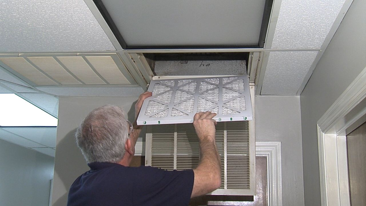 The air conditioning system is a household appliance that
