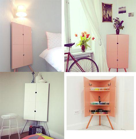Ikea PS 2014 Corner Cabinet Design Decor
