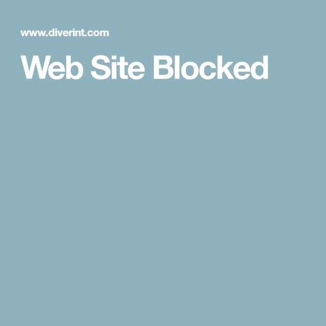 Web Site Blocked