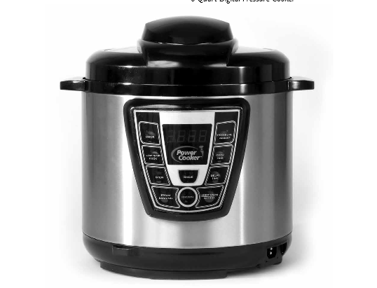 Tristar Power Cooker Electric Pressure Cooker Manual Quick Start