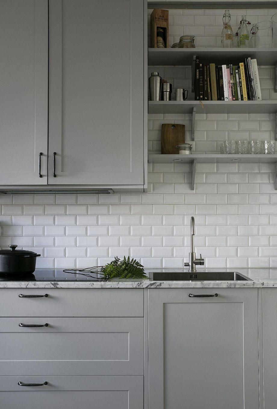 77 Cool Grey Kitchen Cabinet Ideas Http Homecemoro Com 77 Cool Grey Kitchen Cabinet Ideas Grey Kitchen Designs Kitchen Cabinet Design Kitchen Renovation