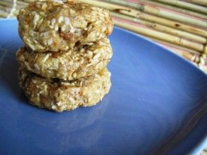 Almond Butter Cookies. I've made these ten times over already-so yummy!