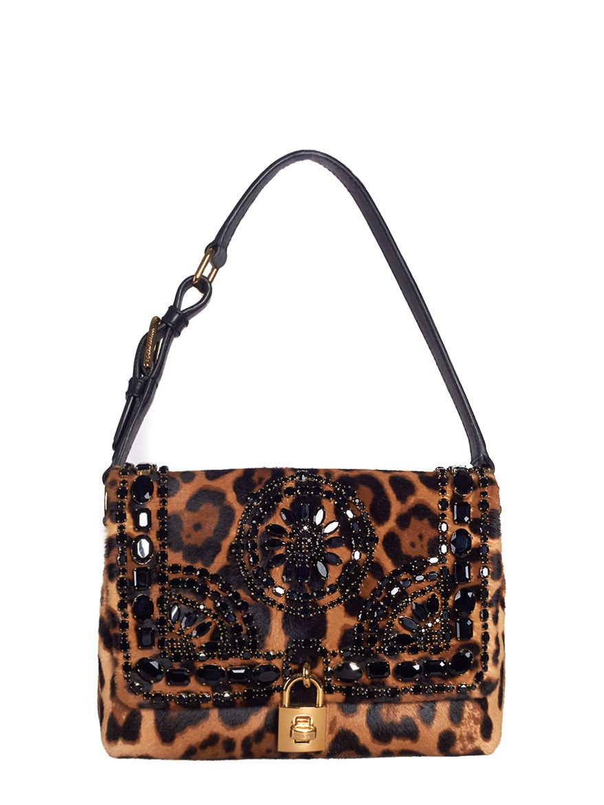 сумка dolce gabbana леопард купить