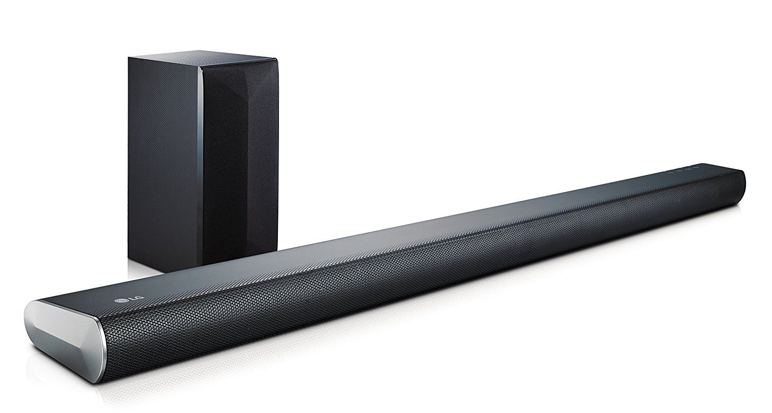The Lg Is A Sound Bar Audio System With Wireless Active Subwoofer And Bluetooth Connectivity Suitable For Tvs 40 Above