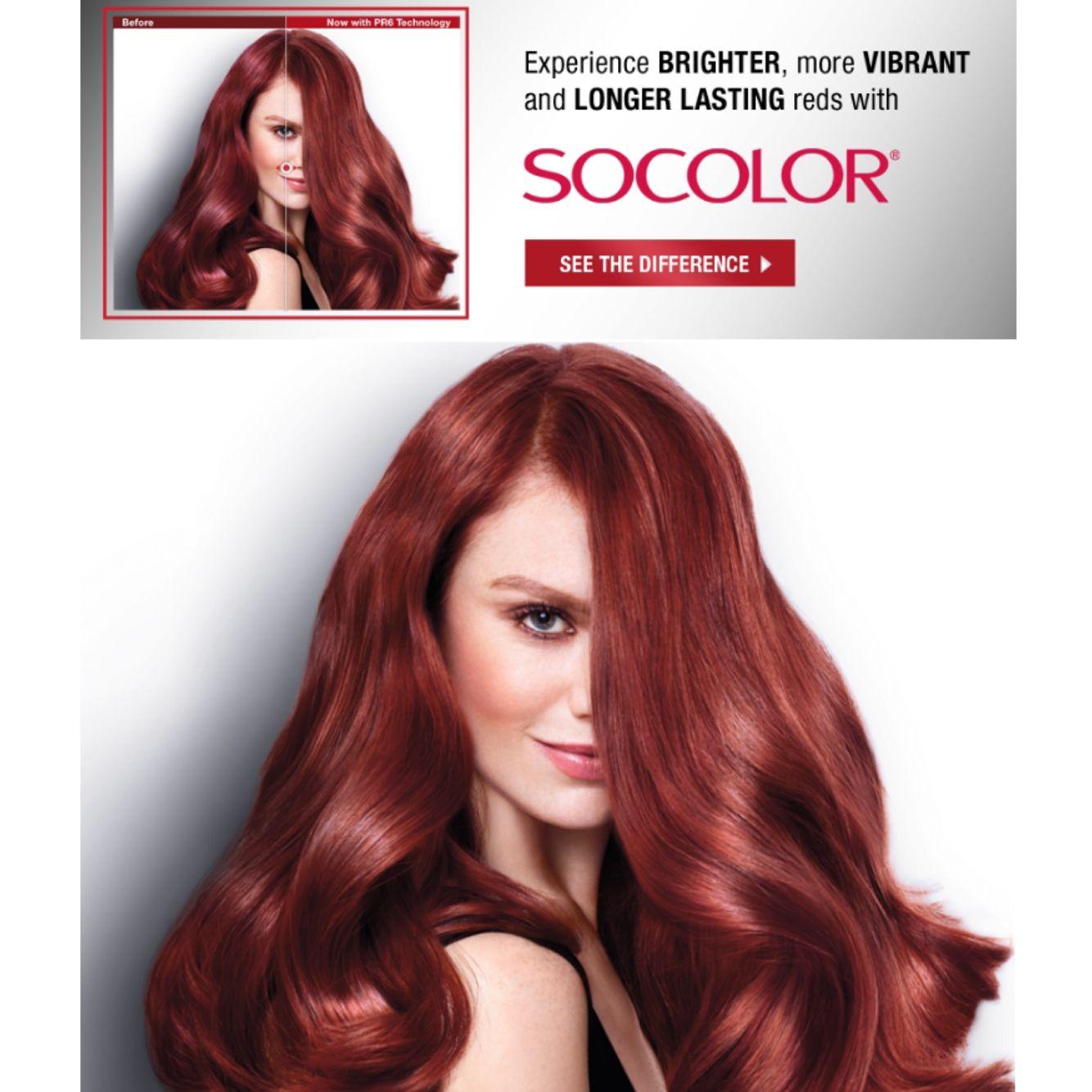 Loreal Matrix Redhead Haircampaign Musenyc Audracallo Socolor Advertisement Haircolor Matrix Hair Color Hair Fire Hair