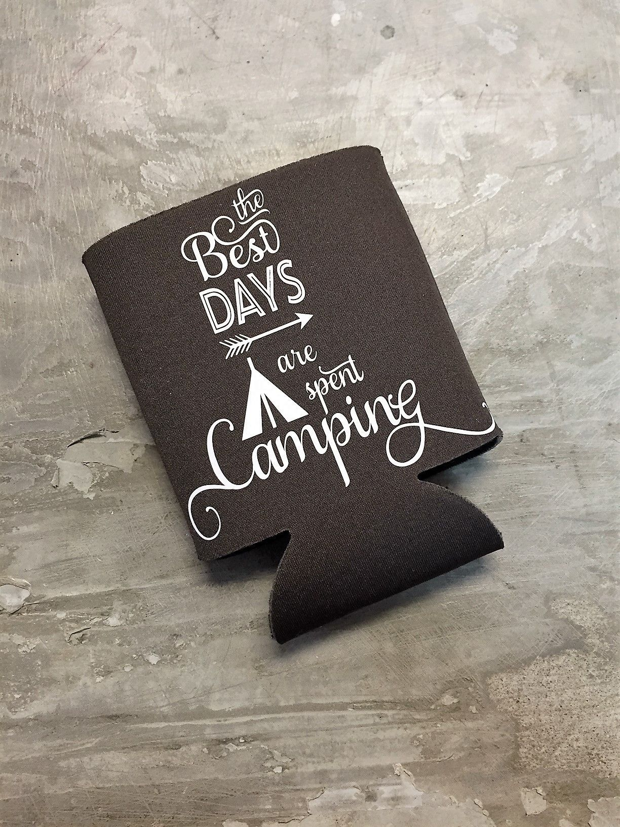 The best days are spent camping koozie | koozies/camping ...