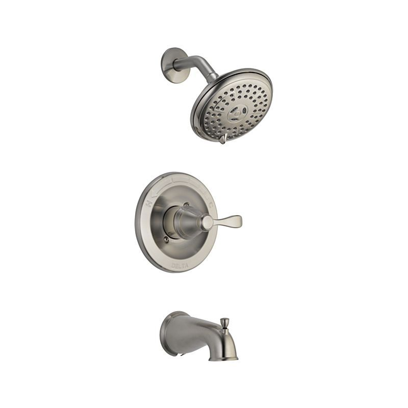 230 144984 Bn A Porter Monitor 14 Series Tub And Shower Trim Rough Bath Products Delta Faucet Shower Faucet Tub And Shower Faucets Shower Tub