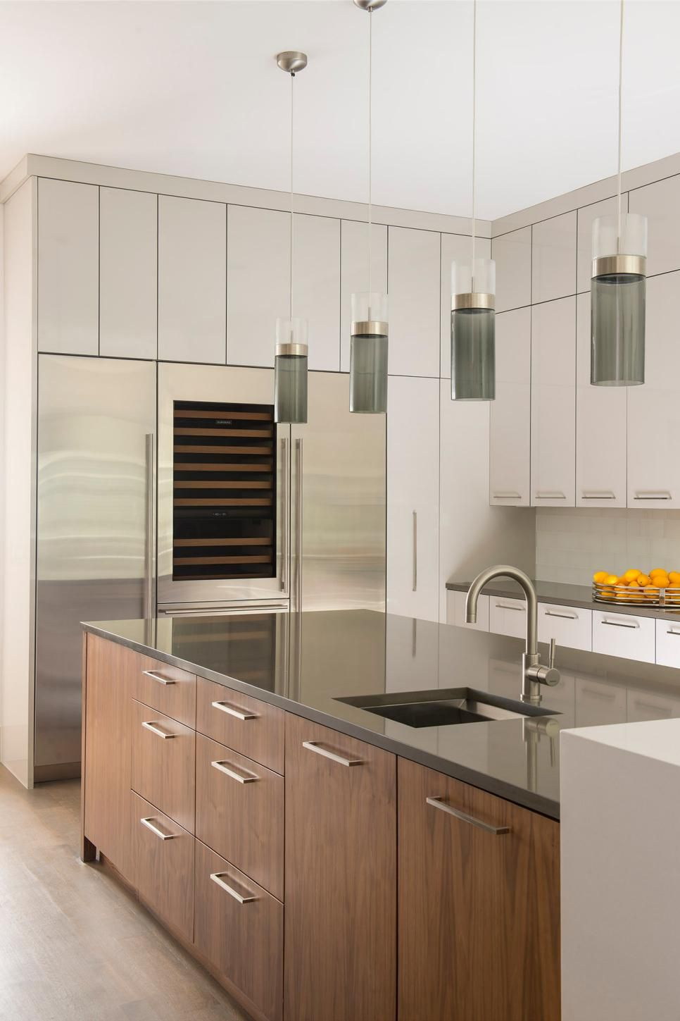 Best Smoky Glass Pendants Are A Stylish Complement To This 400 x 300