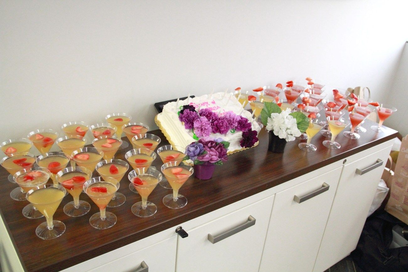 tips to throwing an office bridal shower gathering the females in your office at work together to celebrate the upcoming wedding of a co worker is a lot of