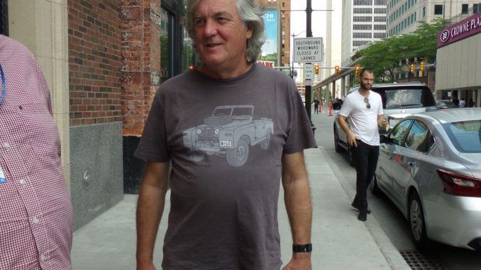 james may filming for the grand tour in detroit june 2018 let s rh pinterest com