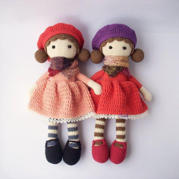 Muñeca del ganchillo PDF Aria, ganchillo muñeca, patrones de ...