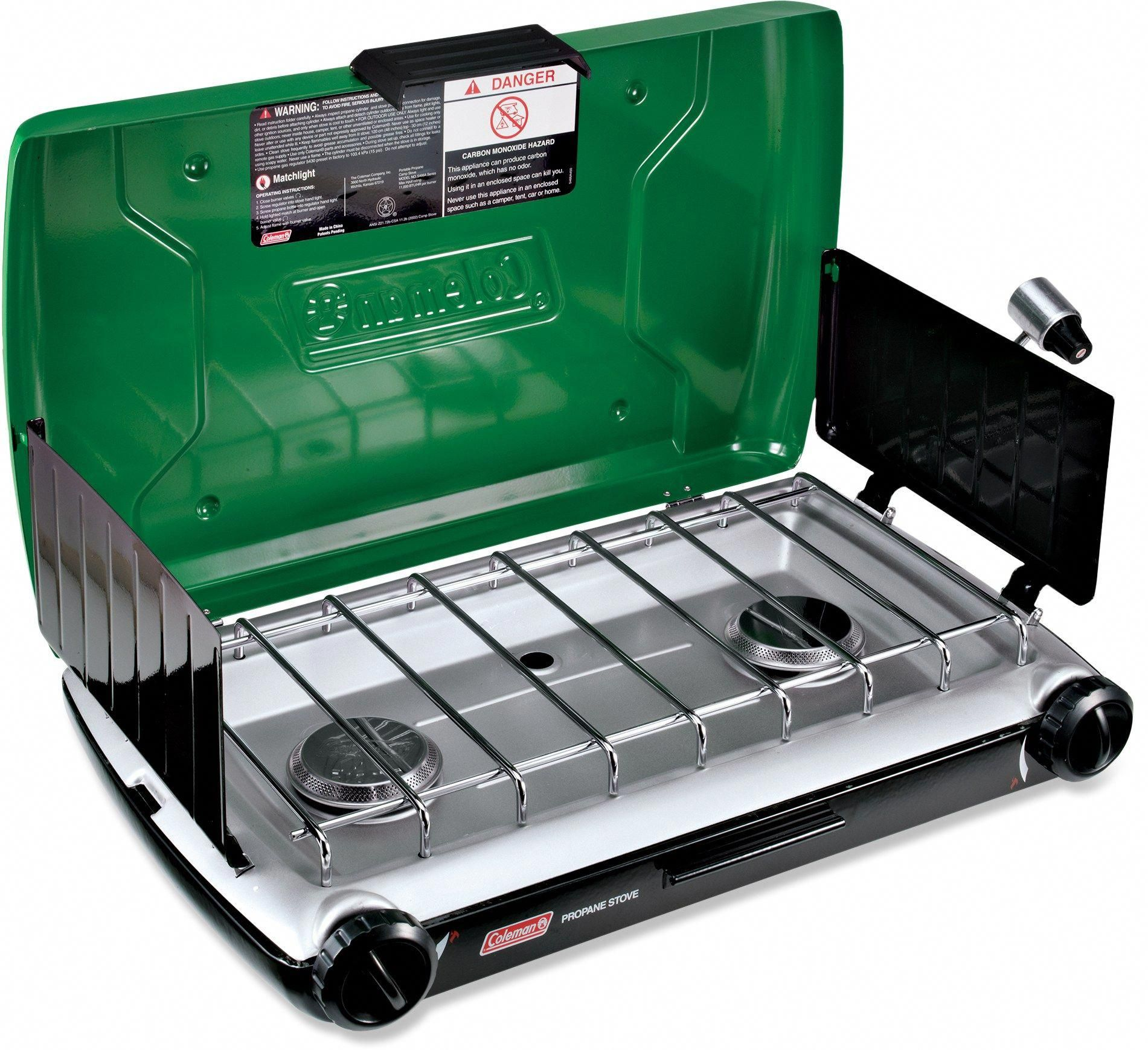 coleman 2-burner stove - free shipping at rei