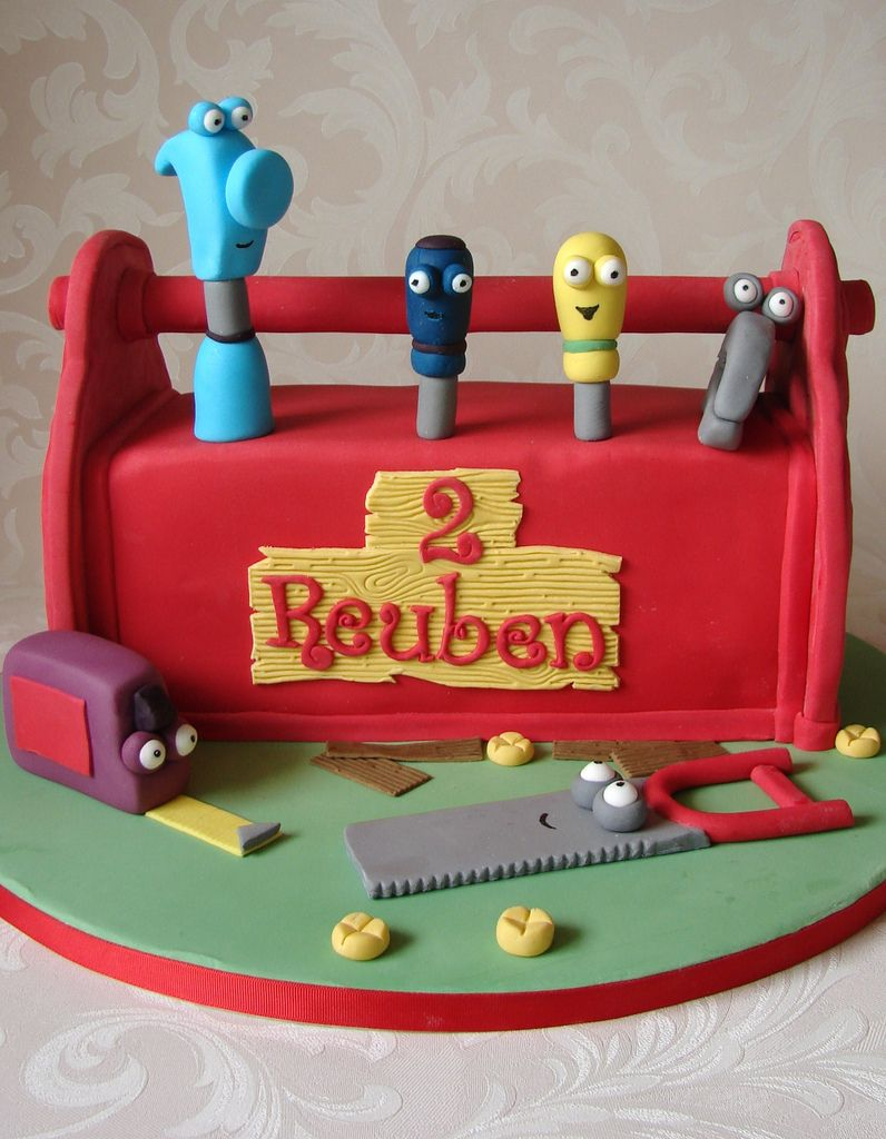 Handy Manny Toolbox Cake Cake and Themed cakes