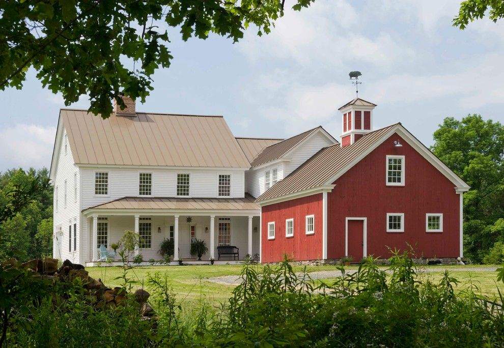 houses that look like barns Exterior Farmhouse with