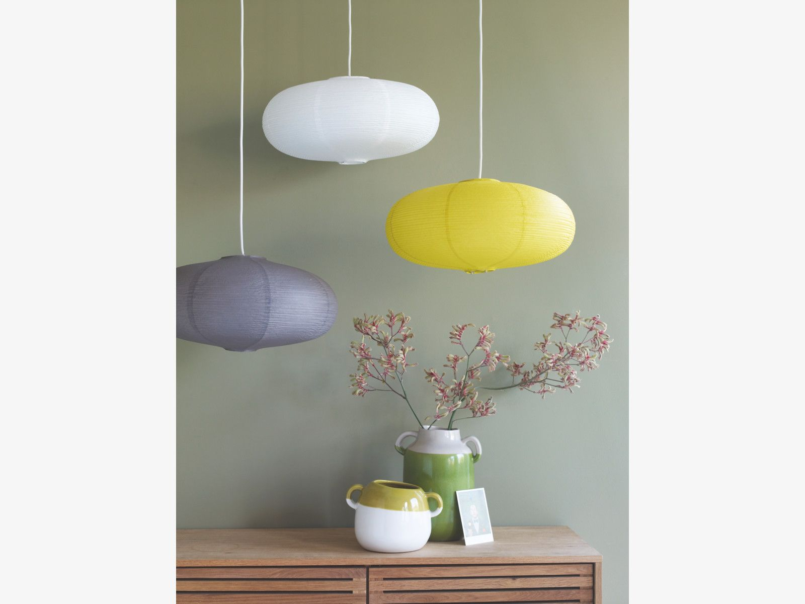 SHIRO White Paper Easy-to-fit Ceiling Shade