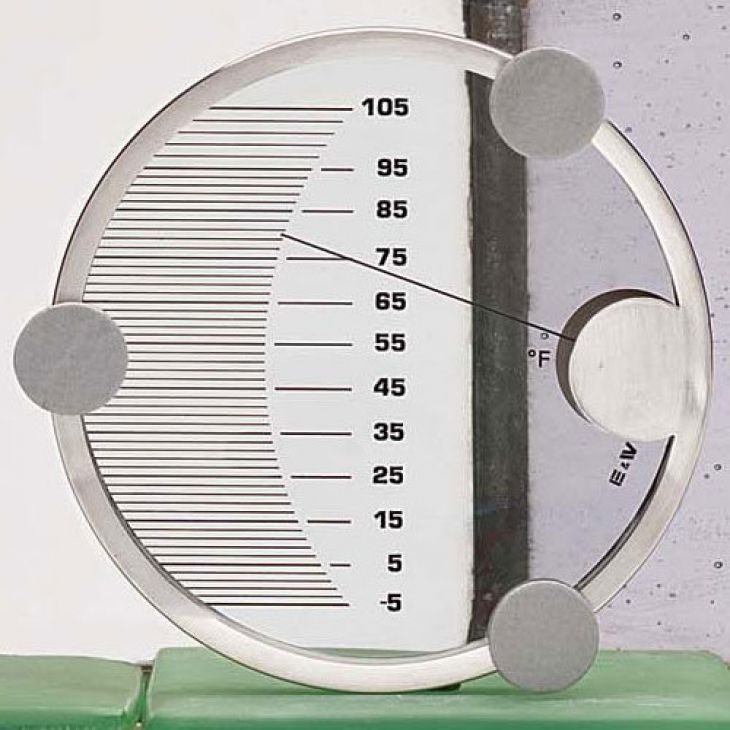 Outside Window Mounted Thermometer