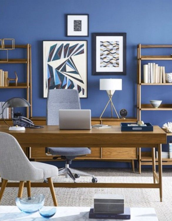 west elm workspace designed our dream gloffice home home office design office interiors. Black Bedroom Furniture Sets. Home Design Ideas