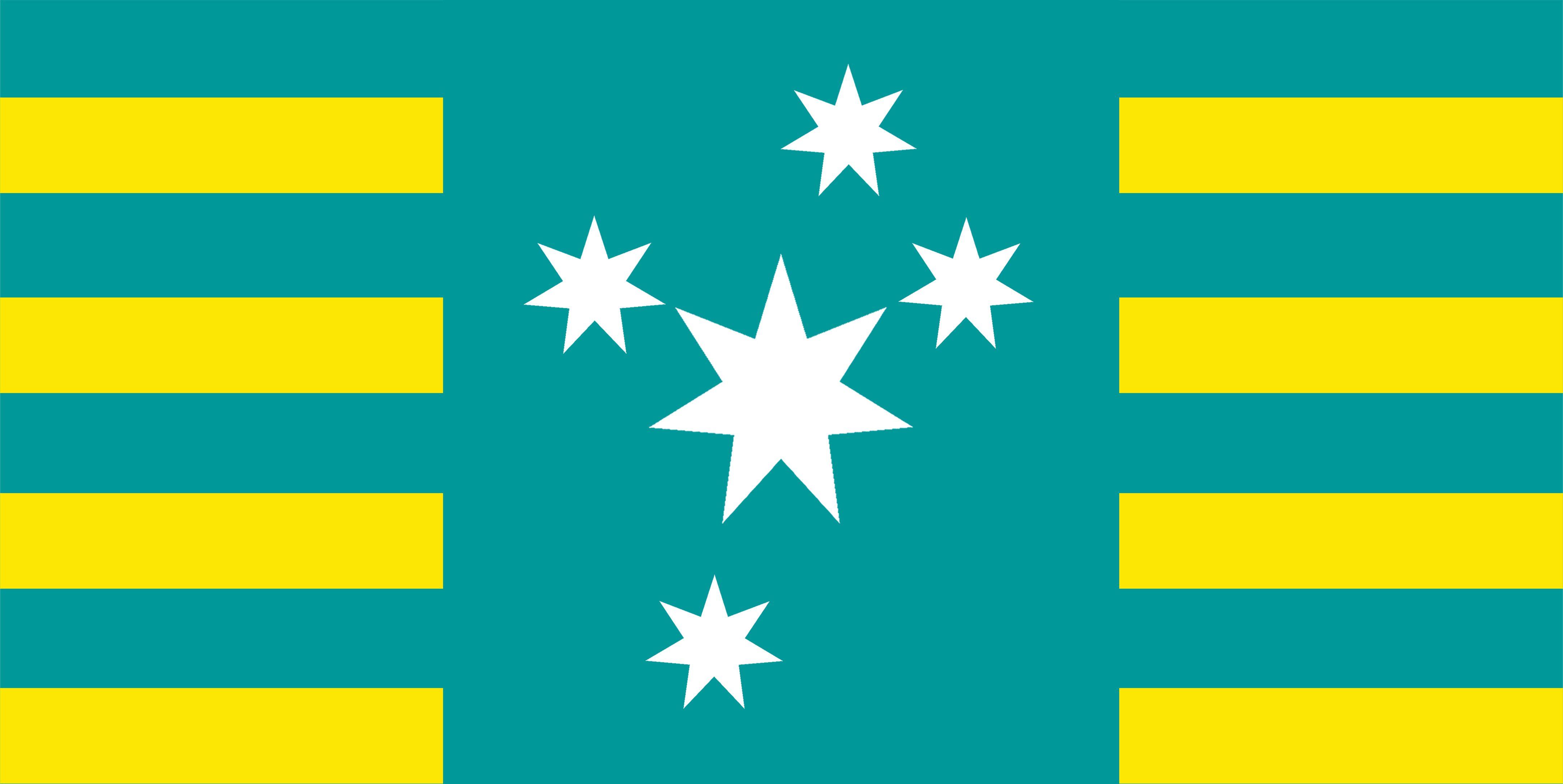 new Australian Flag design series - UluruSky17a-GoldHorizon-SC-CS ...