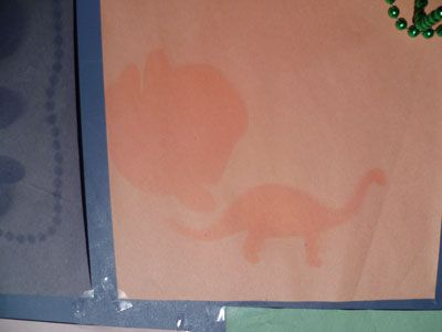 Dinosaur Solar Prints - fun science activity for kids and preschool
