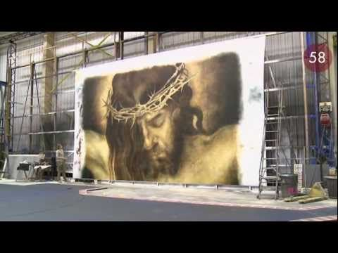RSC in 60 Seconds: Painting the Backdrop | Royal Shakespeare Company - YouTube