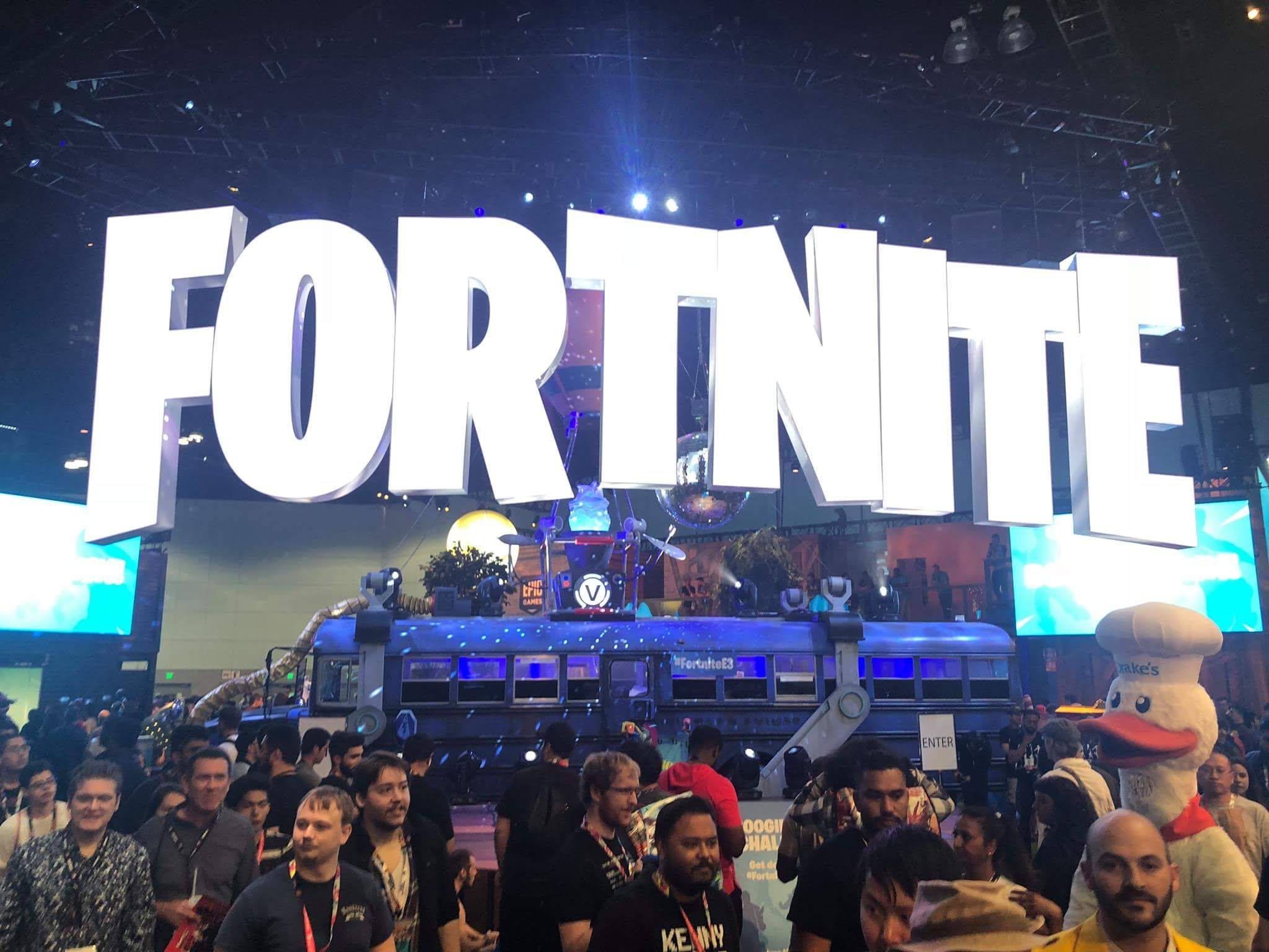 E3 made a children's play area for parents who attend E3