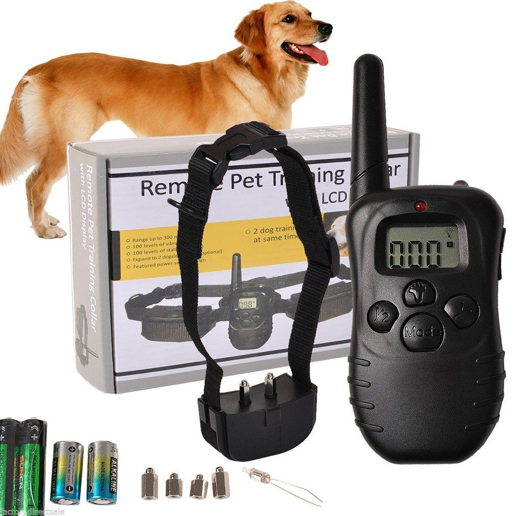 1000 Ft Dog Shock Training Collar With Remote Jacksuper Pet