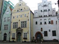 Baltijas Valstis (a balti államok): Riga – Óváros (Vecrīga) 3 fivér házak