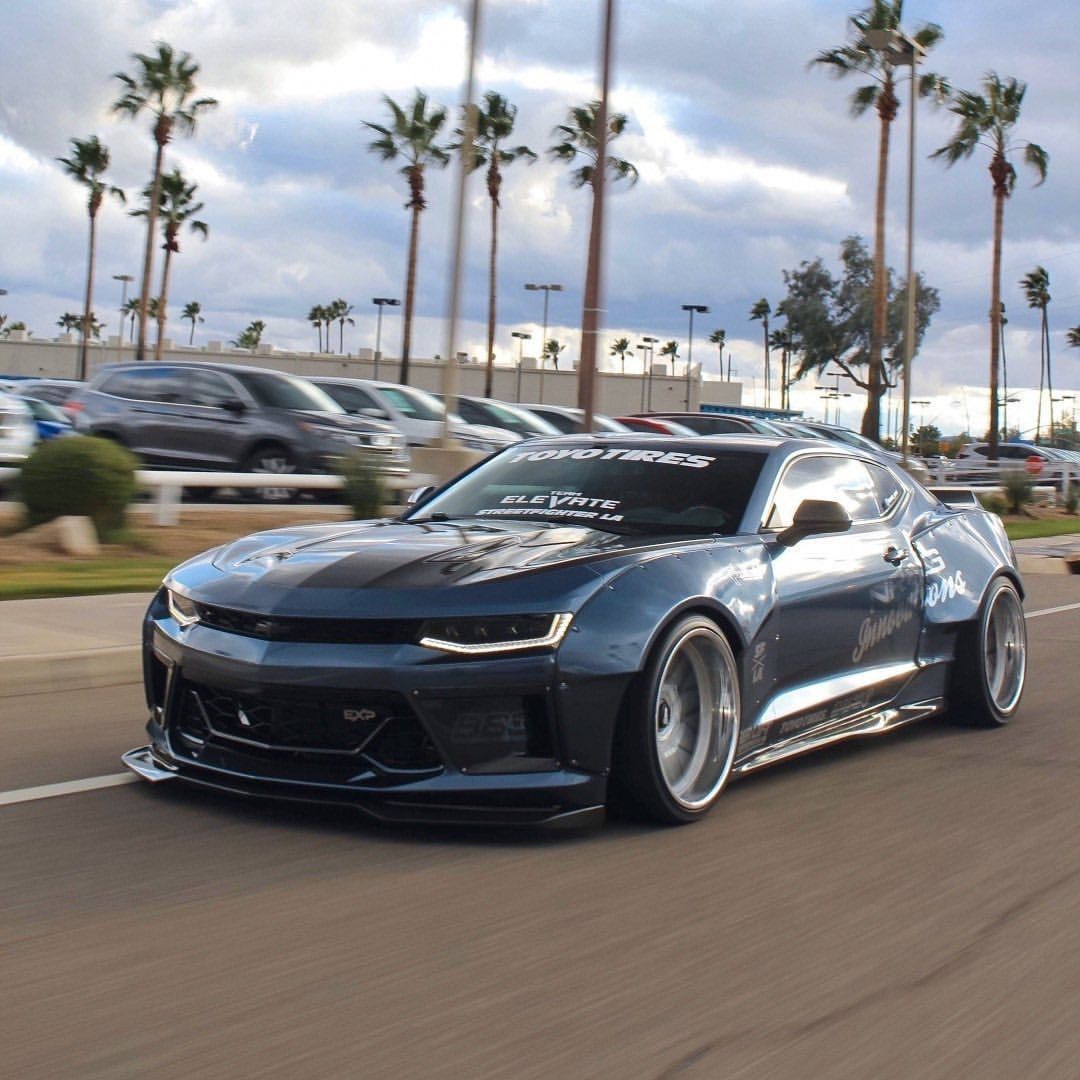 Streetfighter Los Angeles On Instagram Streetfighter La 6th Gen Camaro Wide Body Kit By Brando Gen6 Wide Body Kits Are In Camaro Wide Body Kits Dream Cars