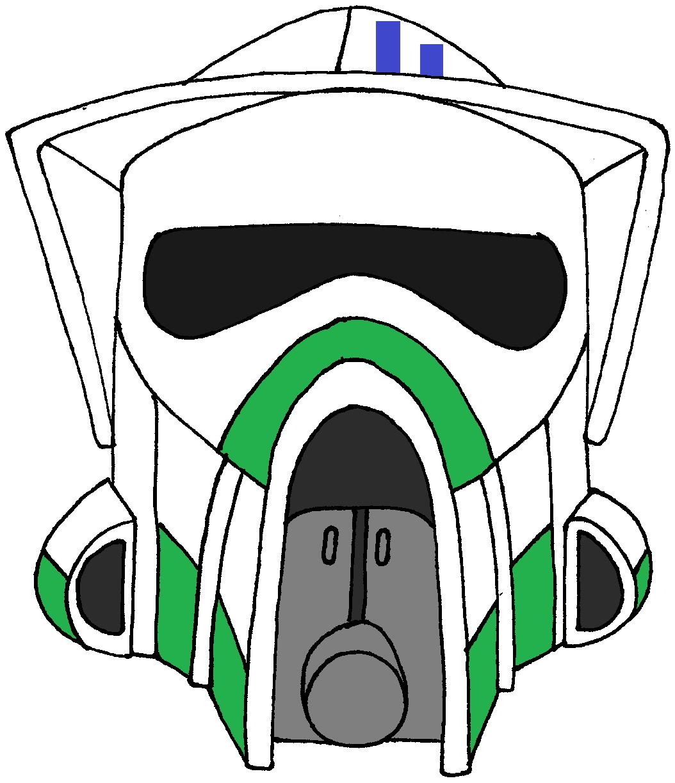 Clone Trooper Helmet Lightning squad | Clone Trooper Helmets ...