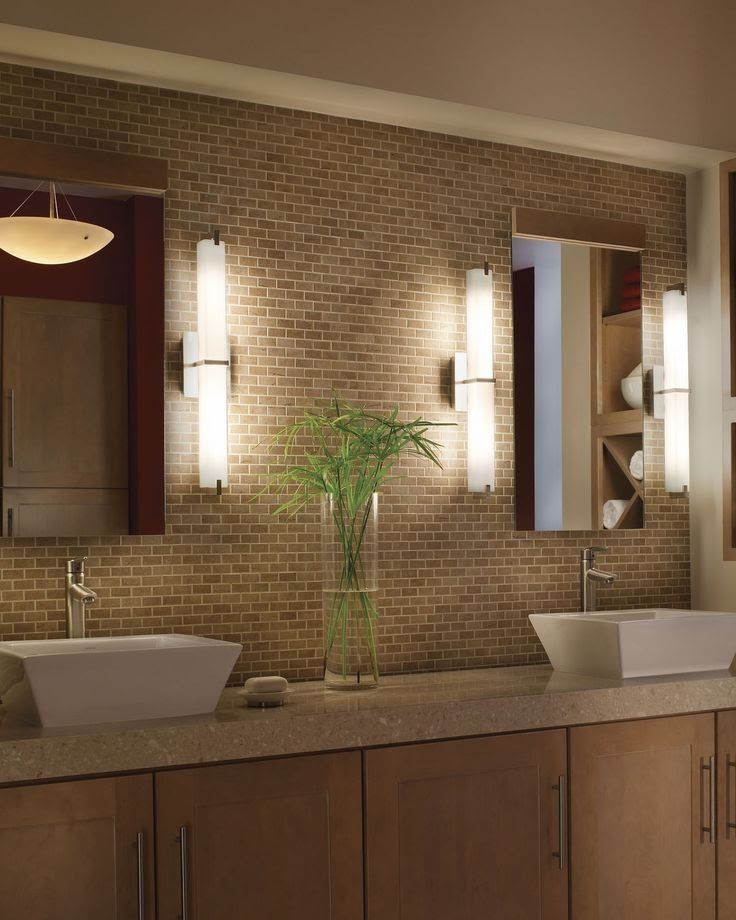 25 Amazing Bathroom Light Ideas | Bathroom lighting | Pinterest ...