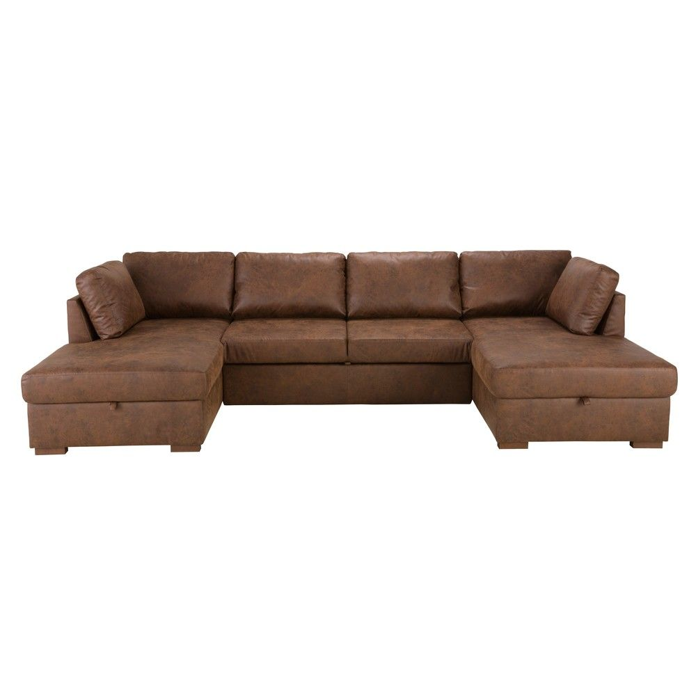 ausziehbares 7 sitzer panorama sofa hellgrau haus. Black Bedroom Furniture Sets. Home Design Ideas