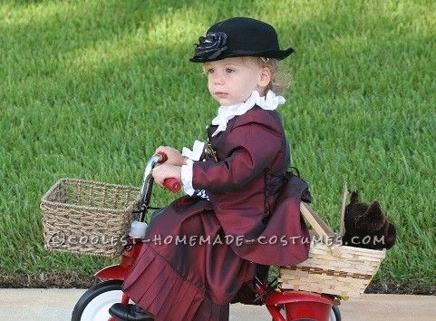 Cool Handmade Toddler Costume Ms. Gulch with Toto from Wizard of Oz..  sc 1 st  Pinterest & Cool Handmade Toddler Costume: Ms. Gulch with Toto from Wizard of Oz ...